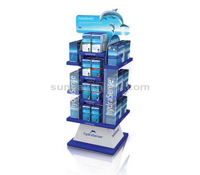 Large acrylic display stands for cosmetic