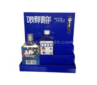 Mini liquor bottle display