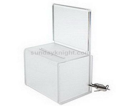 Perspex ballot box