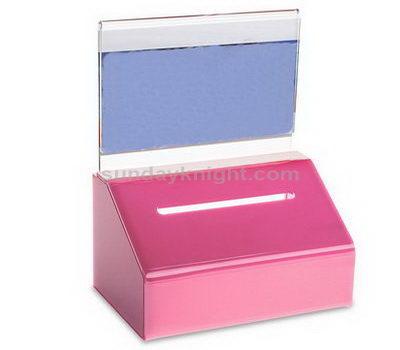 Plastic ballot box