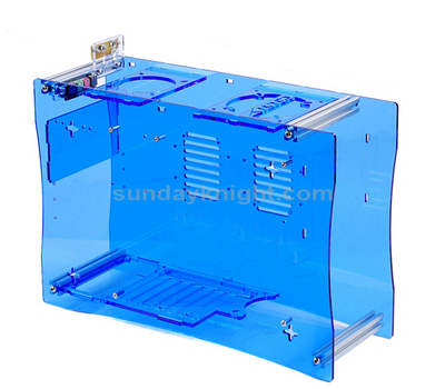 Custom acrylic box for machine
