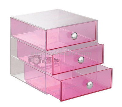 Colored acrylic drawer box