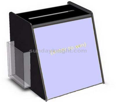 Acrylic lottery box