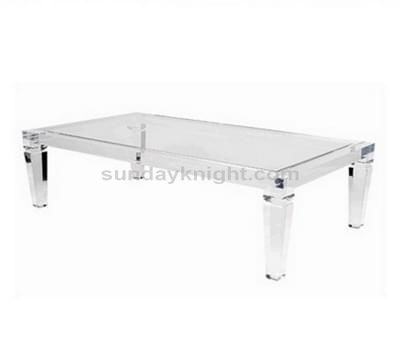 clear acrylic desk table