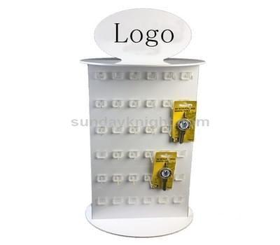 Pegboard display stand