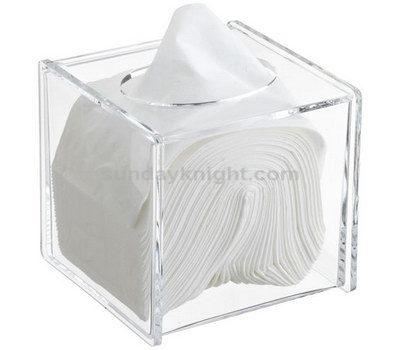 clear acrylic tissue holder