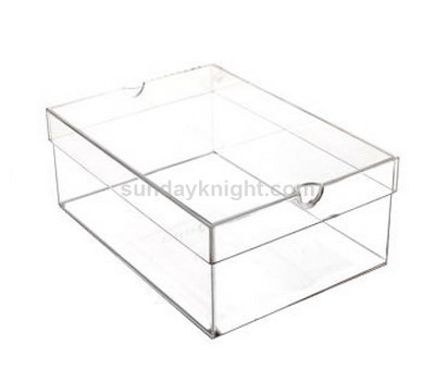 SKAB-127-1 Clear shoe boxes