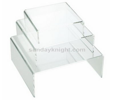 Clear acrylic display rack