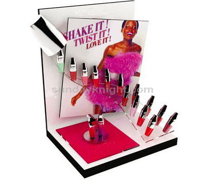 Acrylic display for cosmetics