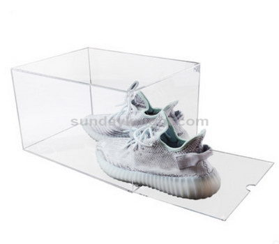 Acrylic shoe box display
