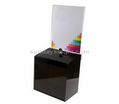 Plastic charity collection boxes
