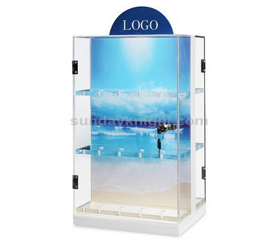 Double sided display case