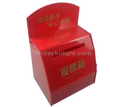Acrylic voting box