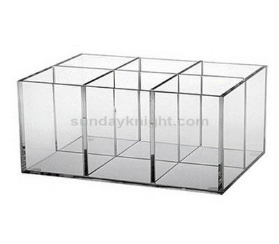 Acrylic compartment storage box