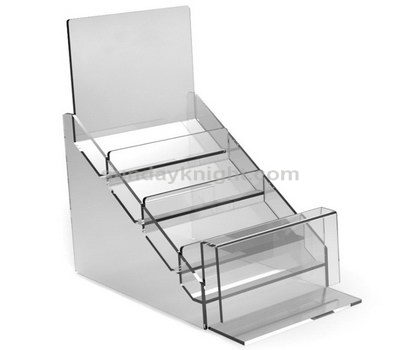 Plastic brochure display racks
