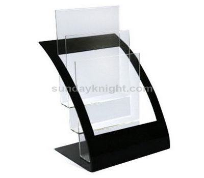 Tabletop literature stand