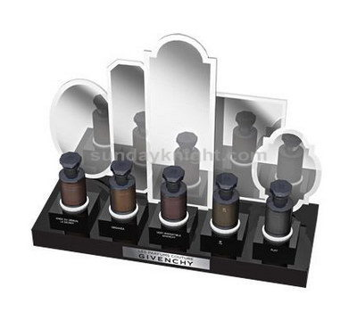 Professional makeup display stands