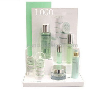Skin care product display ideas