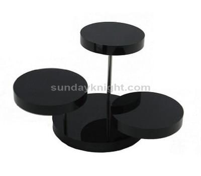 Black acrylic display