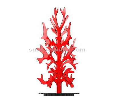 Acrylic tree decorations