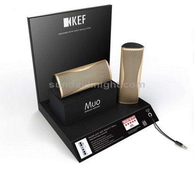 Mini bluetooth speaker display stand