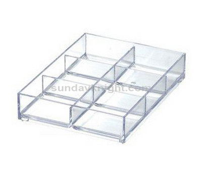 Acrylic compartment trays