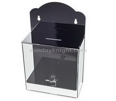 Wall mounted acrylic suggestion box