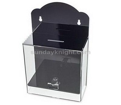 Wall mounted acrylic suggestion box
