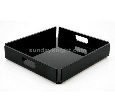 Black acrylic tray