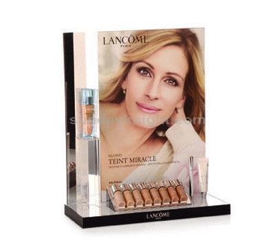 Acrylic display for makeup