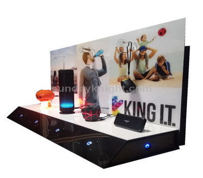 Bluetooth speaker display stands