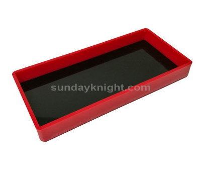 Double color acrylic tray