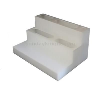 White acrylic display