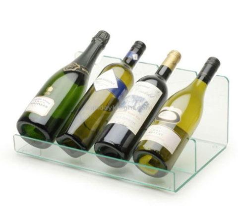 Acrylic wine display stand