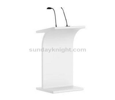 Acrylic podium
