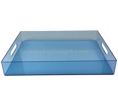 Translucent colored acrylic tray