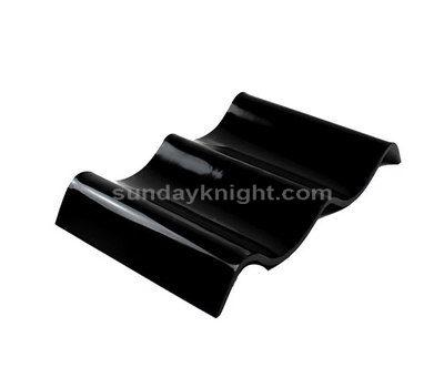 Wave shaped acrylic tray
