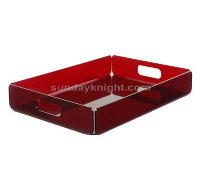 Plexiglass serving trays