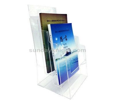 Clear magazine holder