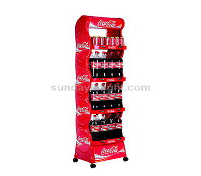 Beverage display racks