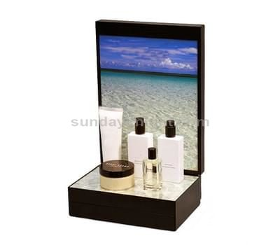 Acrylic beauty display stands