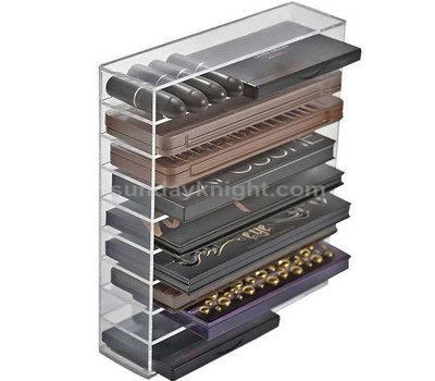 Acrylic cosmetic display organizer