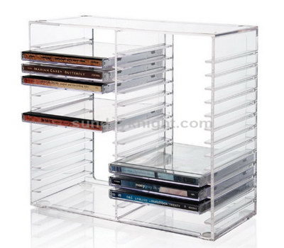 Acrylic dvd storage
