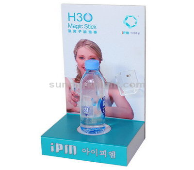 Water bottle acrylic display