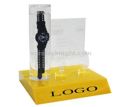 Waterproof watch display stand