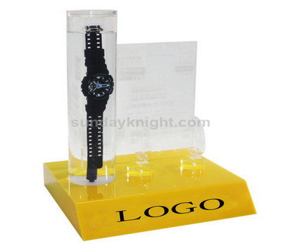 Waterproof watch display stand
