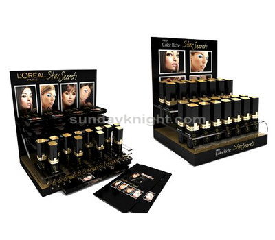 Countertop acrylic cosmetic display