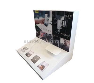 Perspex countertop display