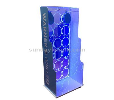 Custom plastic display stands