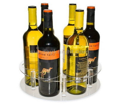 Perspex wine display stand